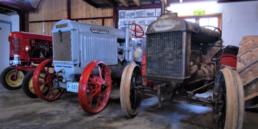 Musée tracteurs