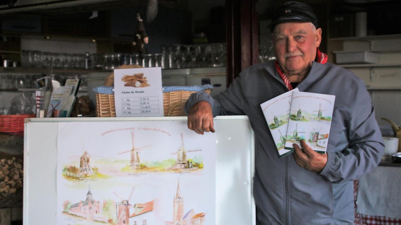 Joseph Markey sort un livre sur la région des quatre moulins d'entre les monts