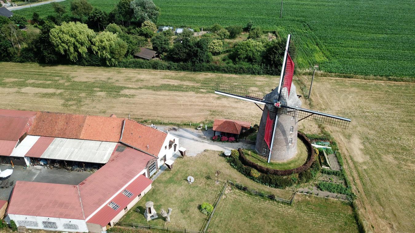 Le Steenmeulen, un moulin riche en histoires à Terdeghem
